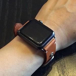 Apple Watchに装着!